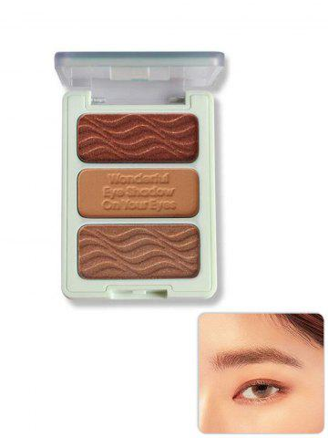 3 Color Matte Waterproof Eye Shadow Palette
