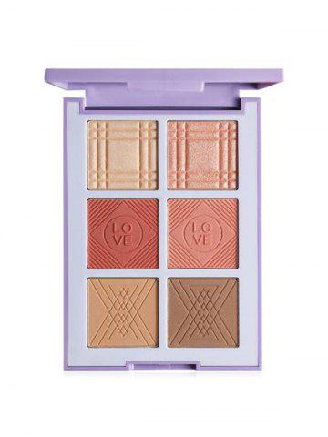 Shading Powder High Light Eyeshadow Blush Makeup Palette