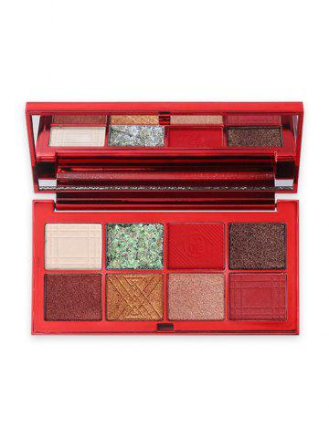8 Colors Glitter Eyeshadow Kit