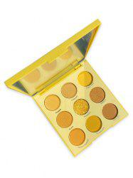 9 Color Makeup Foggy Glitter Eye Shadow Palette -