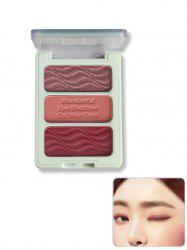 3 Color Matte Waterproof Eye Shadow Palette -