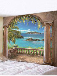 Arches Sea 3D Printing Wall Tapestry -