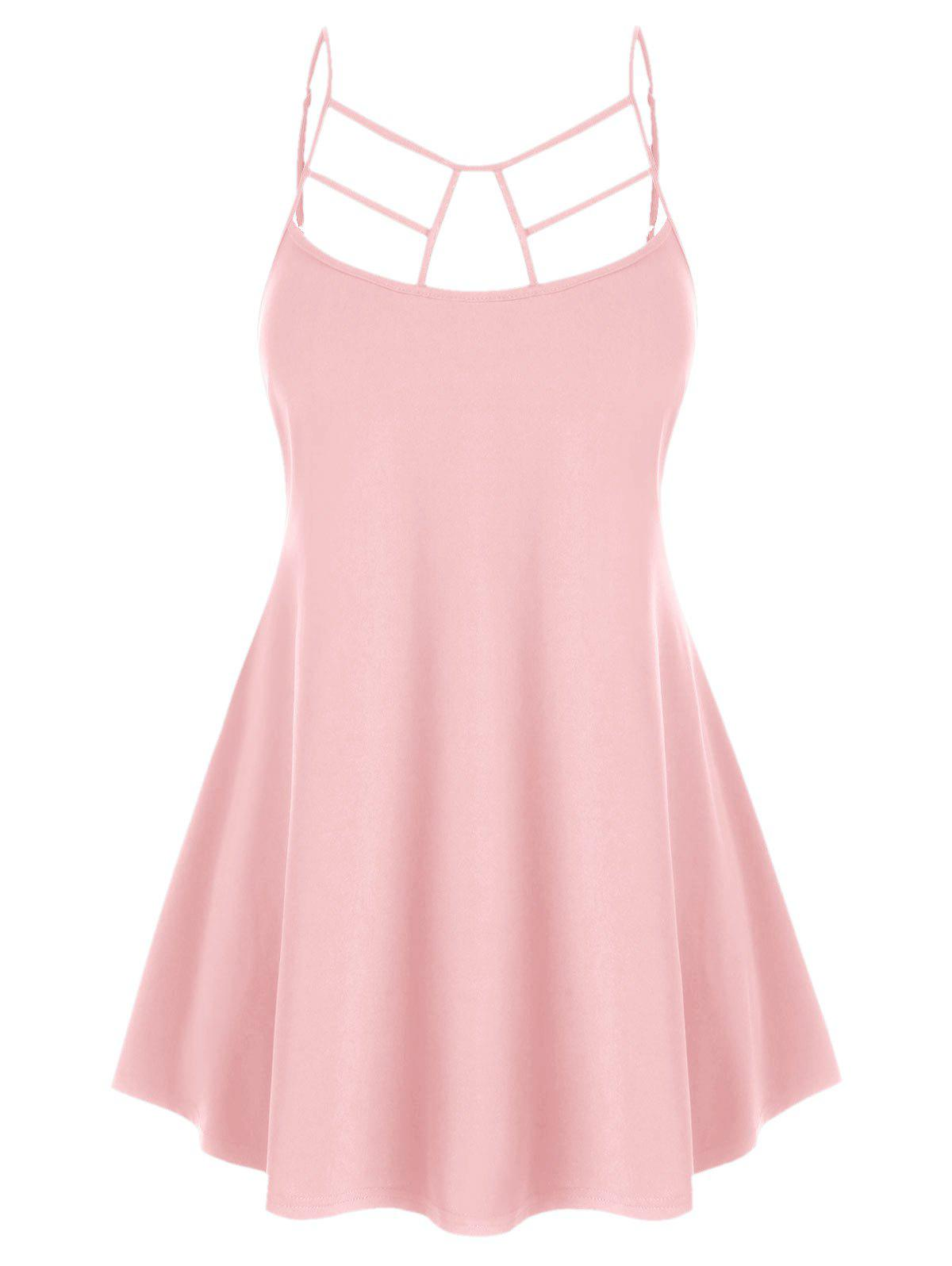 Plus Size Cut Out Swing Cami Top фото