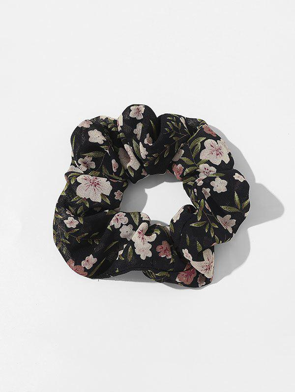 Outfit Tiny Floral Print Fresh Style Fabric Scrunchy