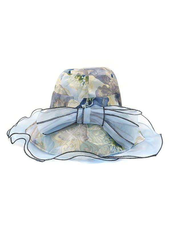 New Floral Bowknot Design Bucket Hat