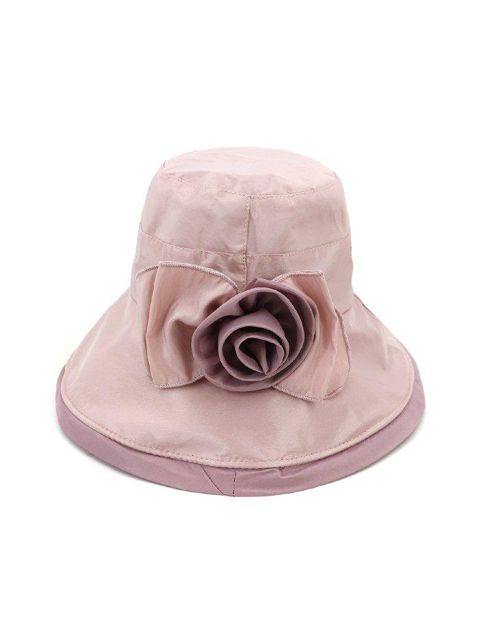 Outfit Bowknot Wide Brim Bucket Hat