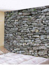 Stone Wall Print Home Decor Tapestry -