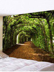 Forest Pathway 3D Print Wall Art Tapestry -