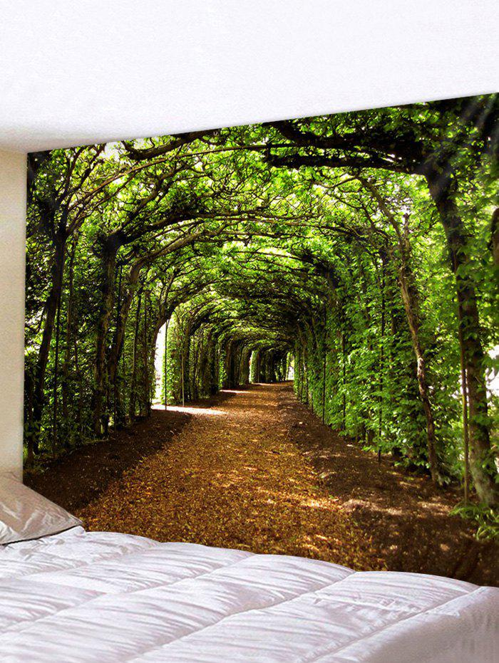 Trendy Forest Pathway 3D Print Wall Art Tapestry