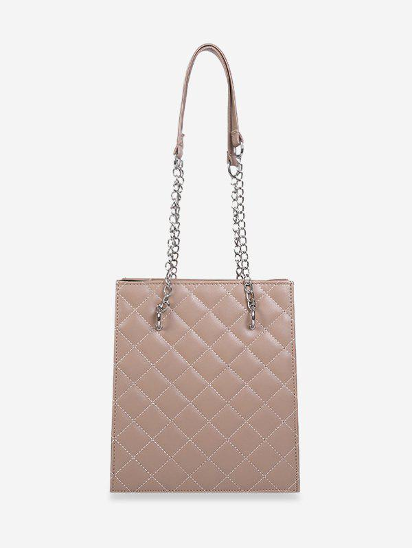 Sale High Capacity Rhombus Quilted Shoulder Bag