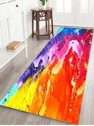Abstract Oil Painting Floor Mat -
