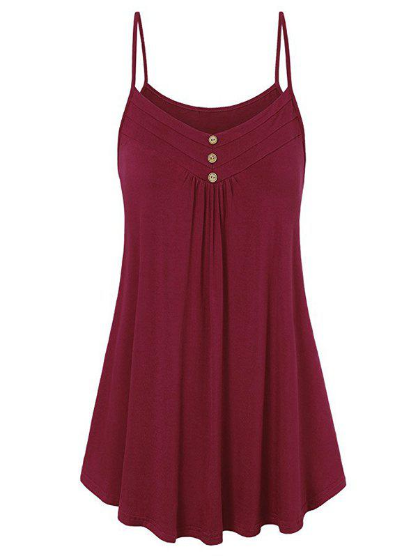 Best Buttons Tunic Cami Top