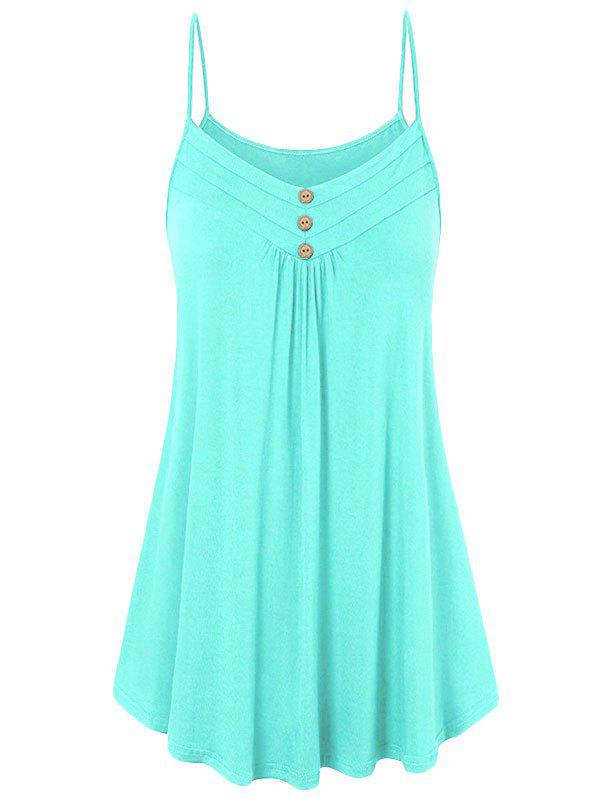 Store Buttons Tunic Cami Top