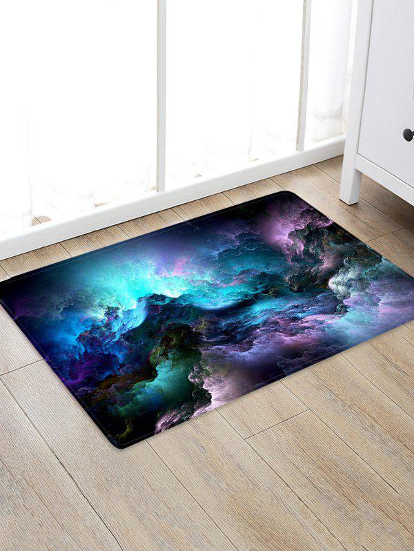 Store Galaxy Clouds Pattern Water Absorption Area Rug