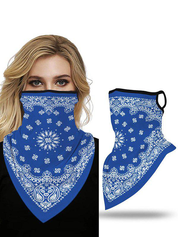 Outdoor Butterfly Printed Mask Scarf