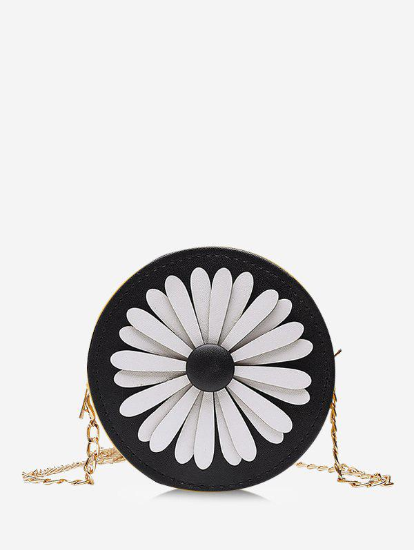 Latest Floral Mini Round Chain Crossbody Bag