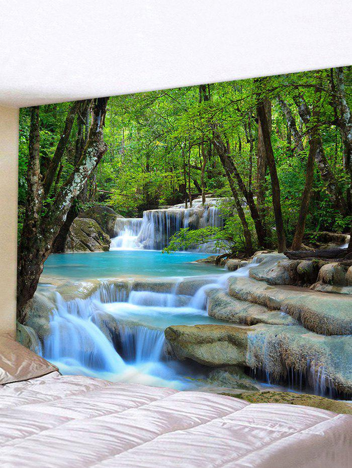 Fancy Forest Water Landscape Print Tapestry Wall Hanging Decorations