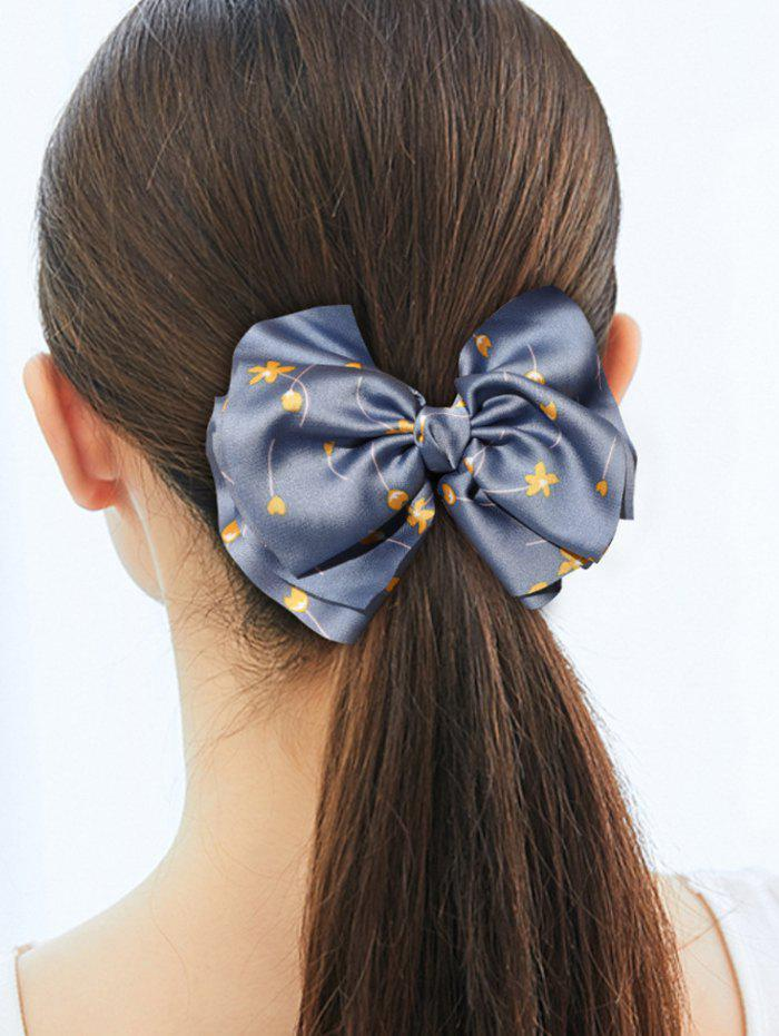 Bowknot Tiny Floral Printed Hair Tie фото