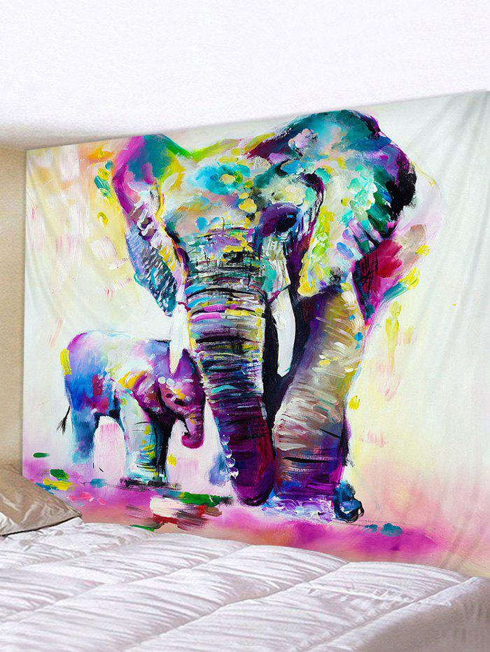 Latest Hand Paint Elephant Print Tapestry Wall Hanging Decorations