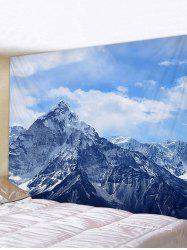 Fine Day Mountain Print Tapestry Wall Hanging Art Decoration -