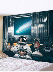3D Digital Printing Space Travel Alien Waterproof Tapestry -