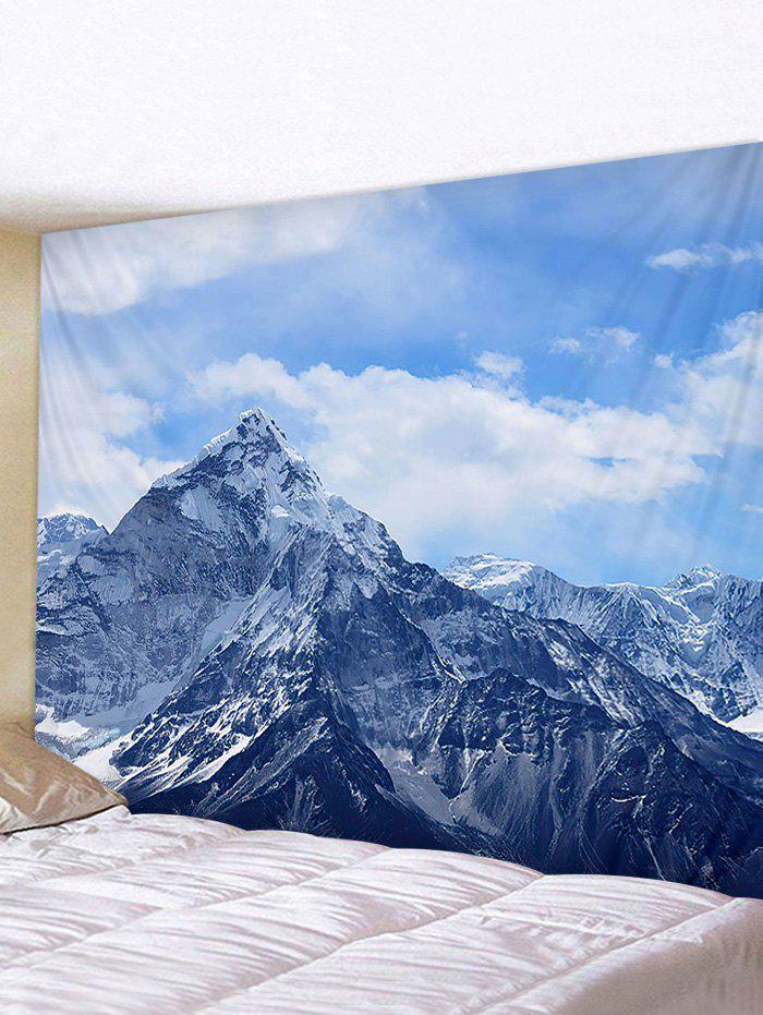 Latest Fine Day Mountain Print Tapestry Wall Hanging Art Decoration