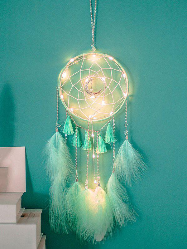 Outfits Tassel Feather Moon Home Hanging Dream Catcher