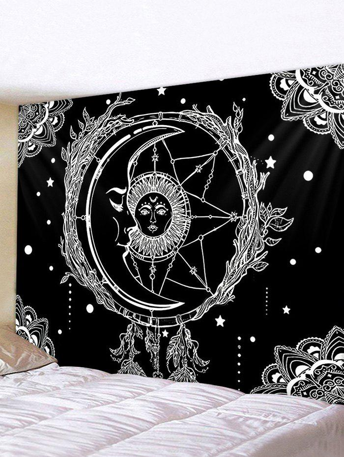 Outfit Sun And Moon Digital Printing Waterproof Tapestry