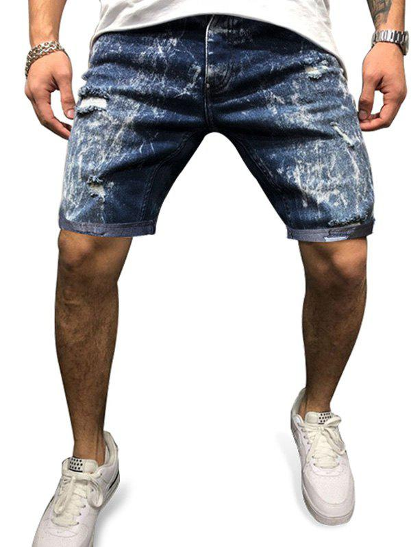 Discount Distressed Destroy Wash Jean Shorts