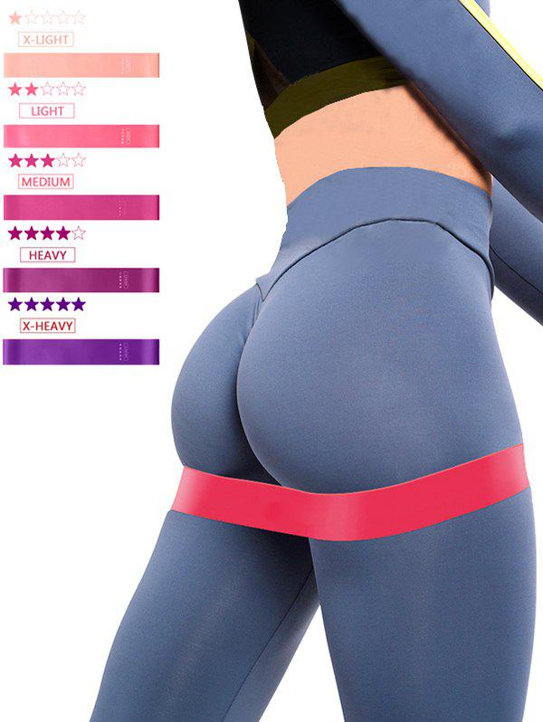 Outfit 5 Pcs Yoga Stretch Band Resistance Bands