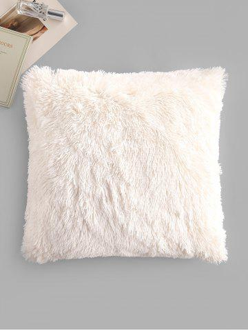 Square Plush Throw Pillowcase