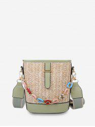 Retro Chain Bucket Crossbody Bag -