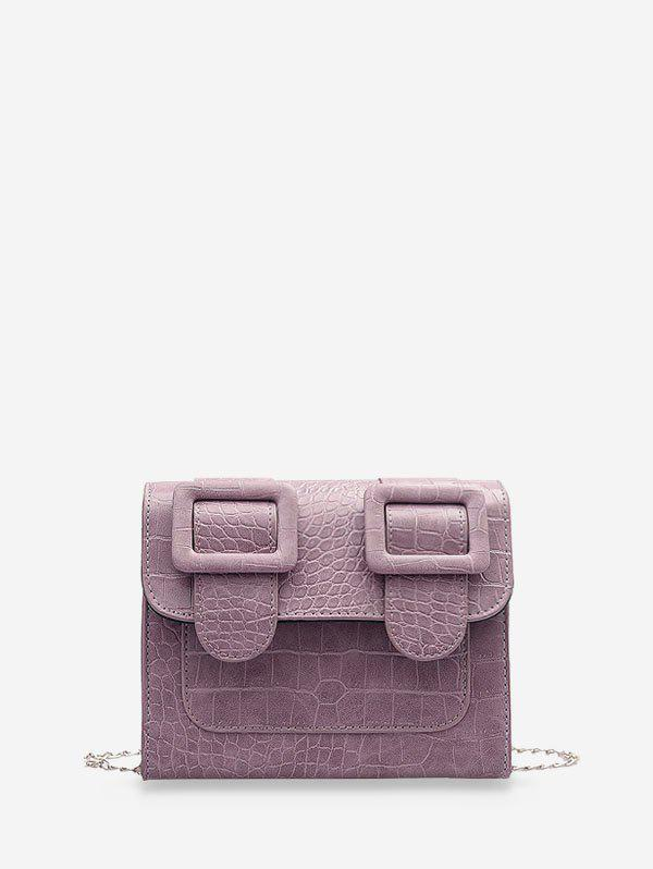 Store Textured Chain Square Satchel Bag