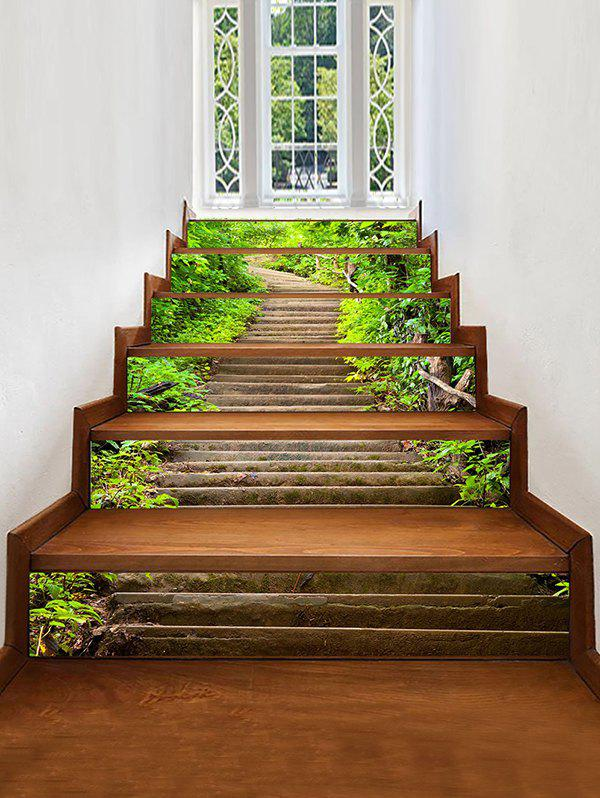 Best Mountains Stairs Pattern Decorative Stair Stickers