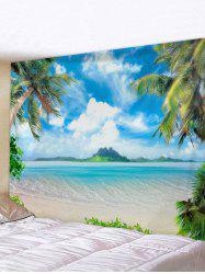 Beach Landscape Print Wall Art Tapestry -