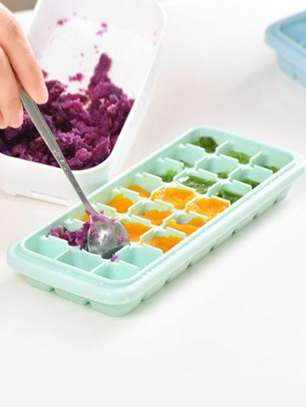 Shops Kitchen Tool Square Shape Silicone DIY Ice Cube Mold