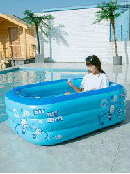 Rectangle Inflatable Swimming Pool Children Play Pool Outdoor Swimming Pool -