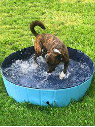 Outdoor Foldable Pet Dogs Swimming Pool Bathing Tub -