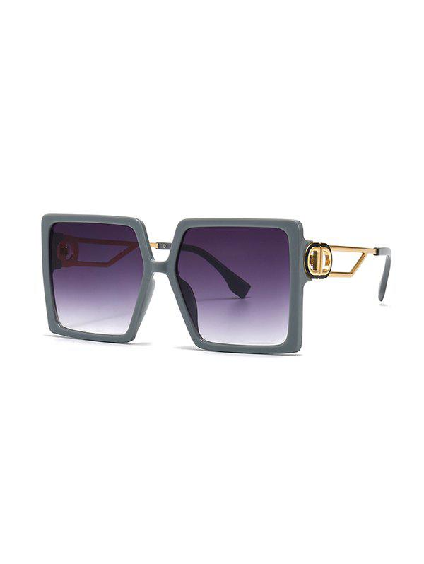 Store Hollow Temple Square Oversized Sunglasses