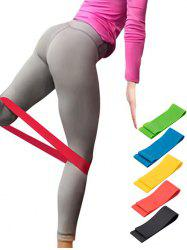 5 Pcs Colorful Yoga Stretch Band Resistance Band -