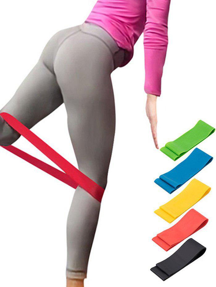 Outfits 5 Pcs Colorful Yoga Stretch Band Resistance Band