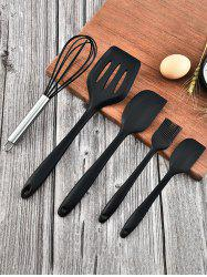 5Pcs Silicone Kitchen Cooking Tools Set -