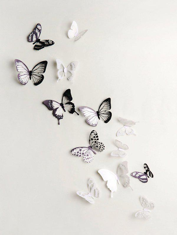 Best 3D Colorful Butterfly Wall Decorative Stickers Set