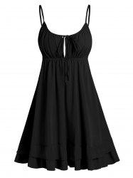 Open Back Tie Knot Cami Dress -