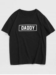 Daddy Graphic Short Sleeve Casual T Shirt -
