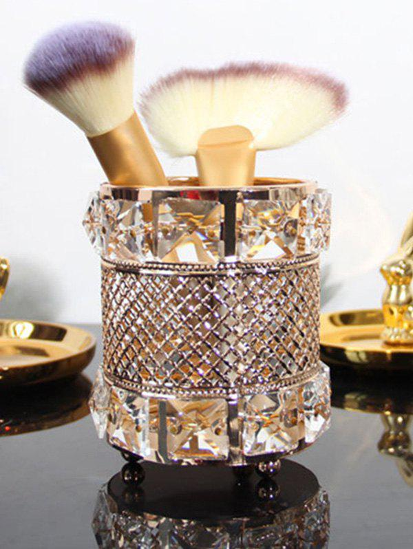 Trendy Home Decoration Cylinder Pen Holder Makeup Brush Holder