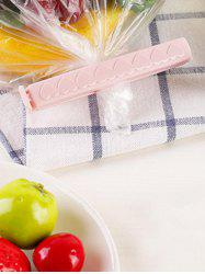 5Pcs Fresh Food Snack Plastic Bag Sealing Clip Set -