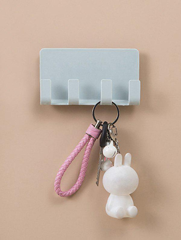 Wall-mounted Mobile Phone Holder Storage Hook Rack фото