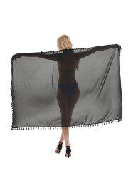 Outdoor Tasseled Convertible Sarong Beach Throw -