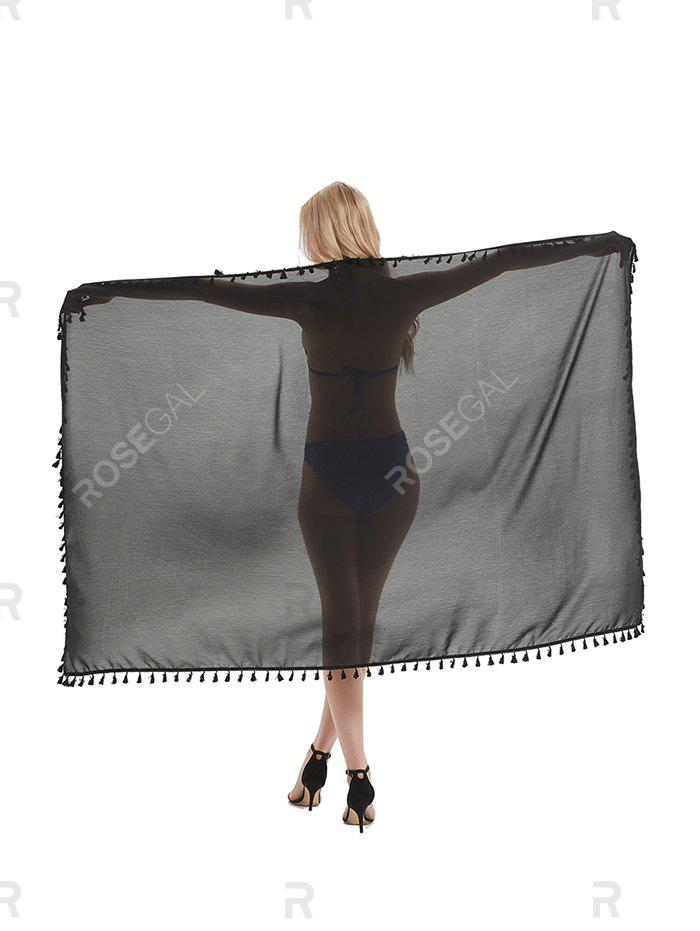 Discount Outdoor Tasseled Convertible Sarong Beach Throw